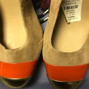 Talbots suede pumps NWT